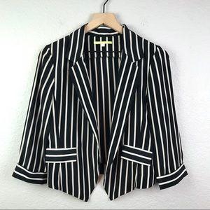Gianni Bini Lightweight Striped Blazer Jacket